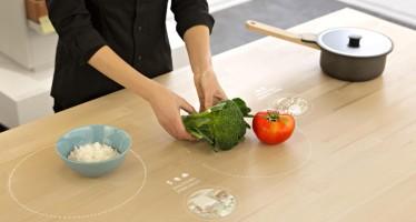 Ikea e il tavolo che suggerisce le ricette