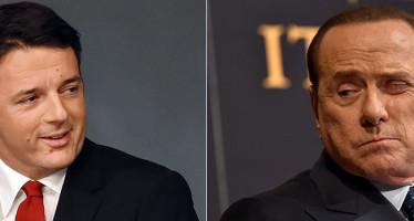 """Renzi: """"Berlusconi potrebbe rivivere per masochismo sinistra"""""""