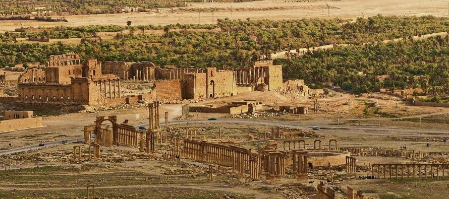 La storia di Palmira. Città orientale da sempre contesa