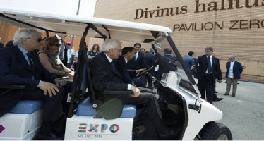 """Expo 2015, Mattarella: """"Facciamo crescere generazione 'fame zero'"""""""