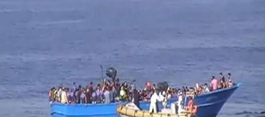 Libia. Scene raccapriccianti sul barcone immigrati