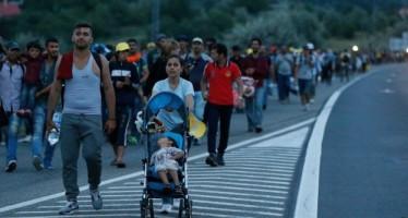 La lunga marcia dei migranti