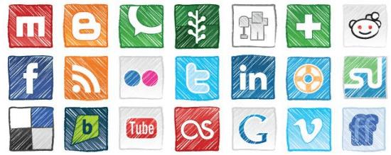 Nella ottimizzazione SEO di una pagina web aggiungete sempre i tasti social: aumentano i link in entrata