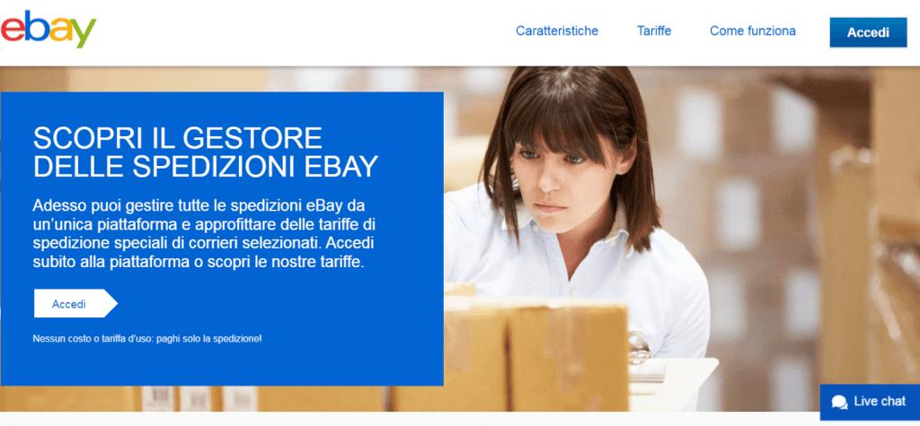 Il Gestore delle Spedizioni Ebay permette a tutti i venditori di gestire le consegne degli ordini in modo semplice e a prezzi più vantaggiosi