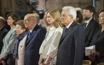 Il Presidente Mattarella. Discorso per il concerto al Quirinale