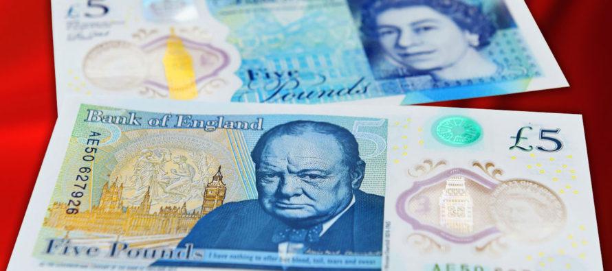 Nuove sterline inglesi. Tecnologicamente avanzate Made in Italy