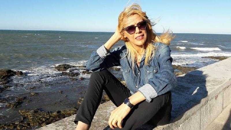 La giornalista RAI International Raffaella de Pascale