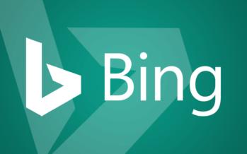Non dimenticare Bing per la pubblicità del 2017
