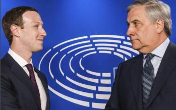 Zuckerberg alla Ue: ci scusiamo per gli errori commessi