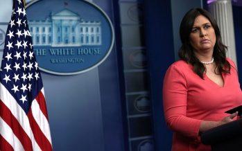 Sarah Sanders, addetta stampa di Trump cacciata da un ristorante in Virginia