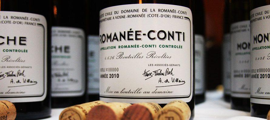Nicola Lucca: vini francesi pregiati ed il Romanée-Conti