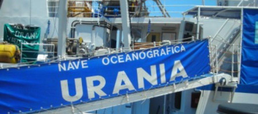 Nave Urania. Finalmente al via la demolizione