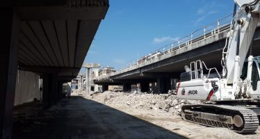Torino, cavalcavia corso Grosseto. Al via demolizione guidata da Despe