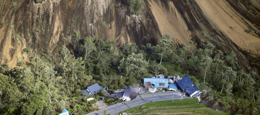 Terremoto Giappone. Frane e danni ingenti