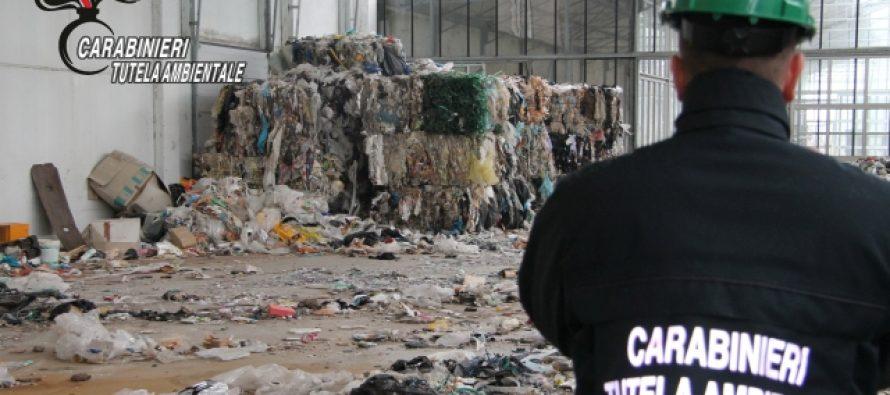 Da vivaio a discarica abusiva di rifiuti. Sequestro del Noe ad Alessandria