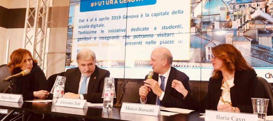 """Scuola digitale, riparte """"Futura"""", prima tappa a Genova dal 4 al 6 aprile"""