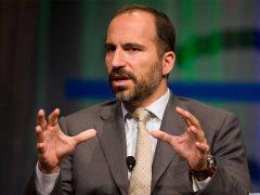 Il CEO di Uber prevede ulteriori perdite, in calo del 12%