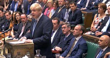 Inghilterra. Johnson alla Camera, è subito scontro con l'Ue