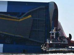 Georgia. Nave da carico della Hyundai si rovescia sono vivi i marinai