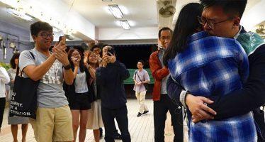 Gli elettori di Hong Kong supportano i candidati democratici