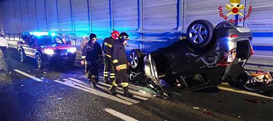 Autostrade Genova. Incidente sulla A12