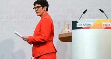 Erede Merkel rinuncia a elezioni 2021