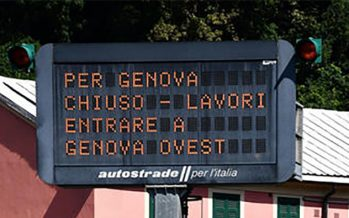 Liguria. Autostrade in completo caos