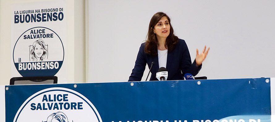 Alice Salvatore: con ilBuonsenso la Liguria alza la testa