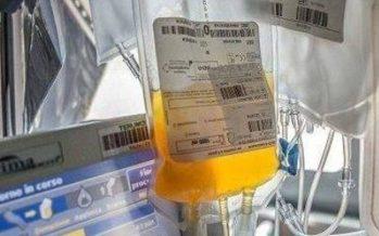 Coronavirus, prima somministrazione ligure di plasma iperimmune