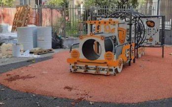 Marassi, vandalizzata ancora l'area giochi di Piazza Galileo Ferraris