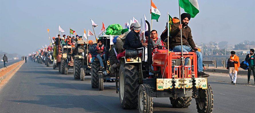 India. La protesta degli agricoltori