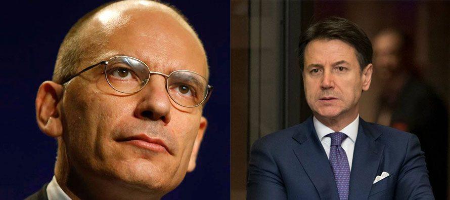 Enrico Letta e Giuseppe Conte. Chi sarà il leader? - ExpoitalyOnline